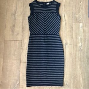 Merona fitted striped dress